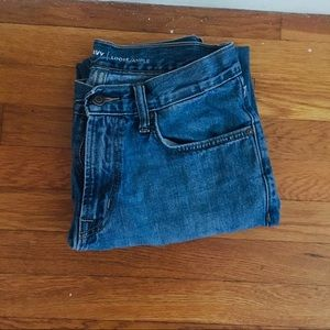 Old Navy loose cotton jeans 30 waist 30 length